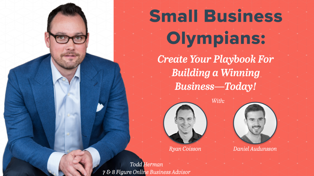 Small Business Olympians with Todd Herman