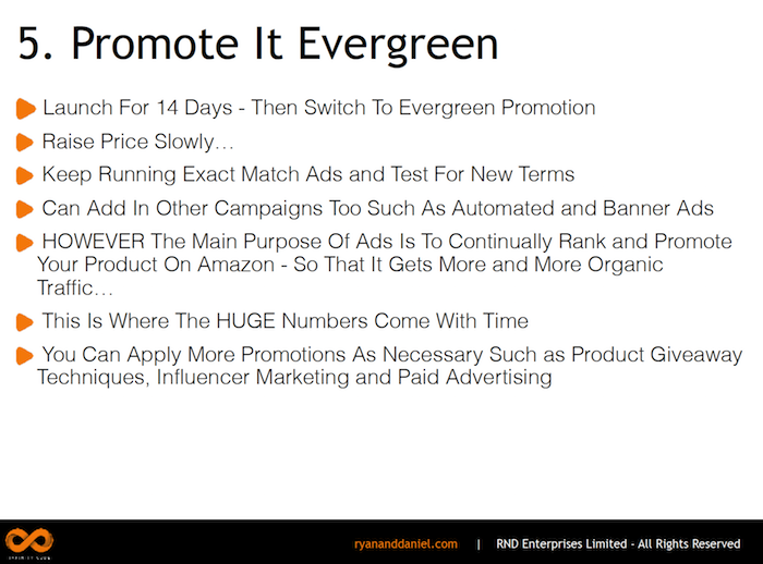 Promote Evergreen