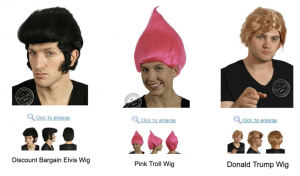 Ezra Firestone Costume Wigs