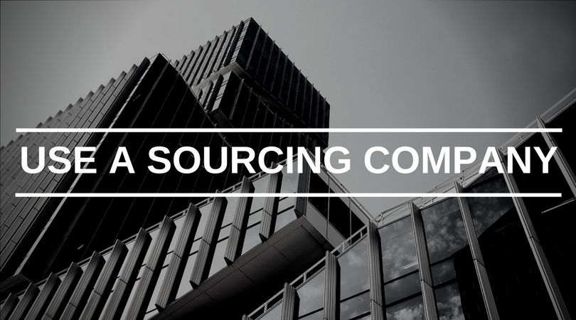 how to use a sourcing company