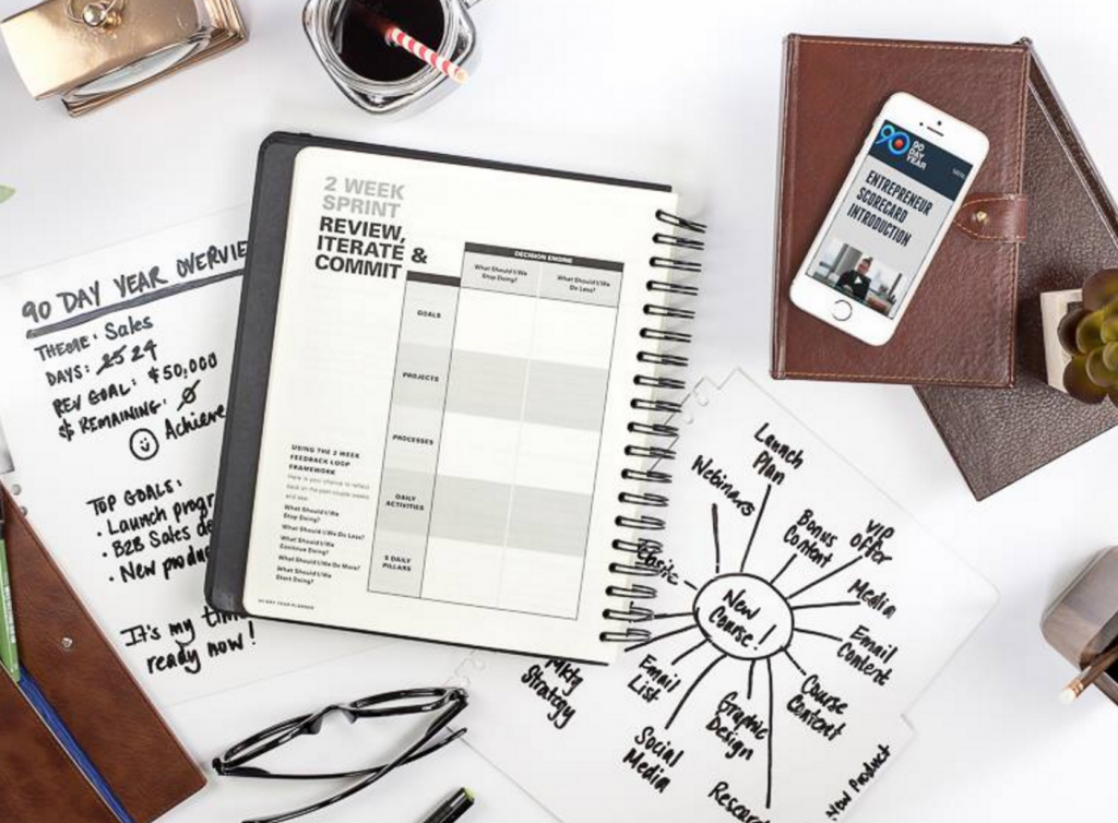 The 90 day year planner