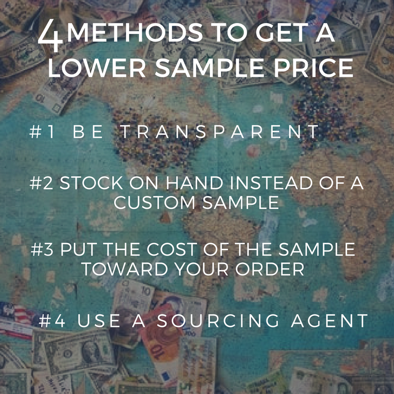 4 Methods to Get a Lower Sample Price
